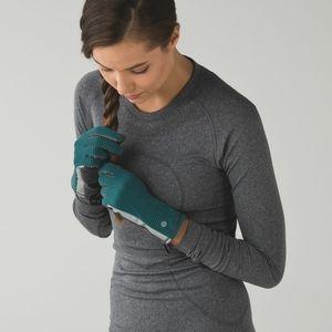 Lululemon Run With Me Gloves